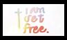 I Am Set Free - Stamp by Starrtoon