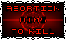 Aims To KILL - Stamp by Starrtoon