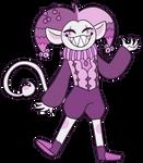 Trickster!Jevil by Starrtoon