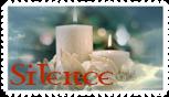 Stamp Silence by JassysART