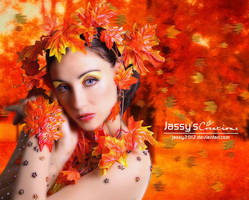 Autumn Lady (updated) by JassysART