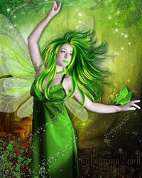The Green Beauty by JassysART