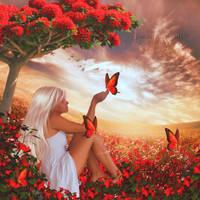 Lovely Butterflies (updated) by JassysART