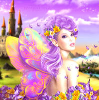 Butterfly Fairy by JassysART