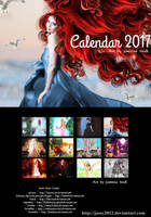 Art Calendar 2017 - Version B by JassysART