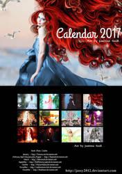 Art Calendar 2017 - Version B by JassysART