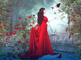 Lady Rose by JassysART