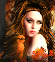 Autumn Beauty by JassysART