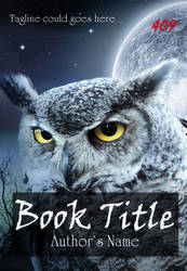 Premade eBook Cover 409 - Owl by JassysART