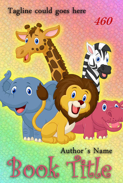 Premade eBook Cover 460 - Comic Friends by JassysART