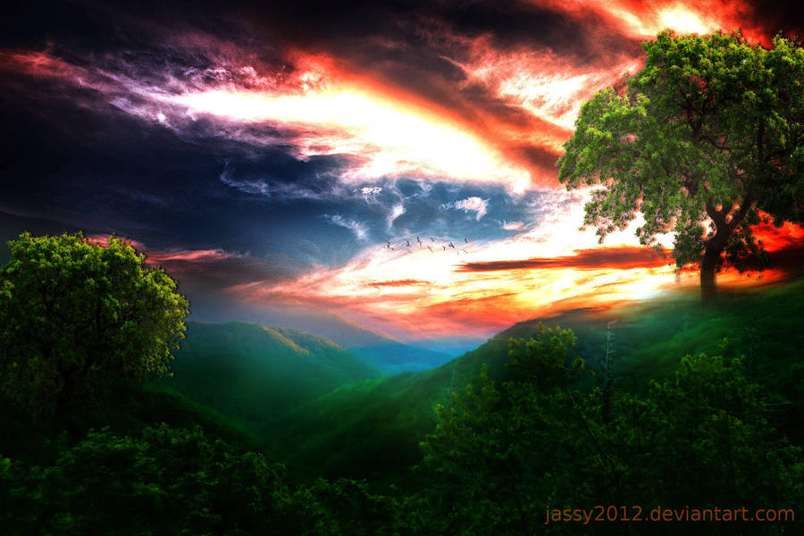 Untouched Nature by JassysART