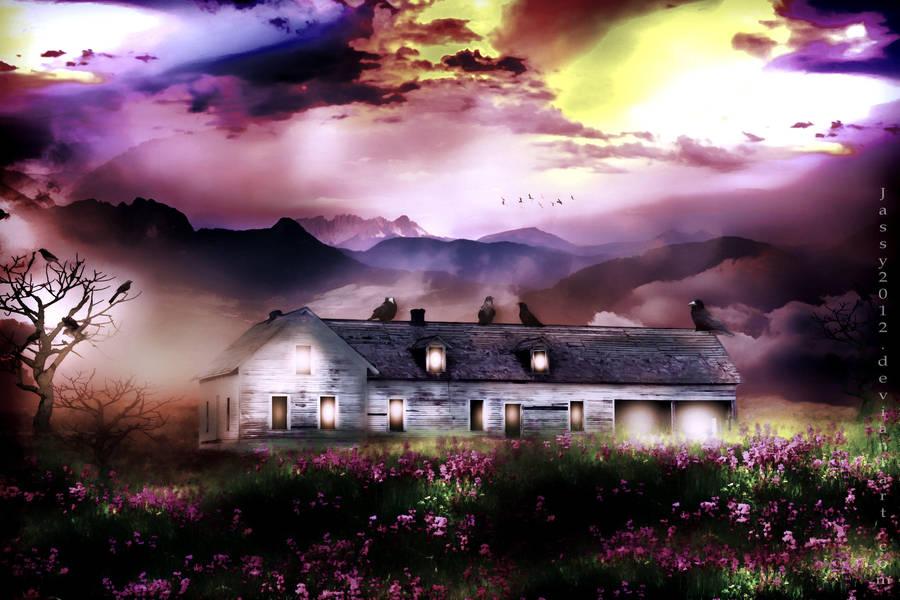Peaceful Evening by JassysART