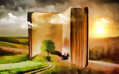 Book Of Fantasy by JassysART