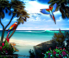 Paradise Beach by JassysART