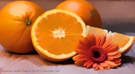 Sweet Oranges by JassysART