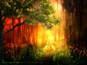 Run Into The Light by JassysART