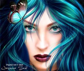 See Deep In My Blue Eyes by JassysART