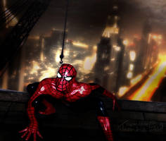 Spiderman oh Spiderman by JassysART