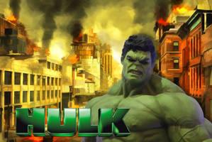 Hulk by JassysART