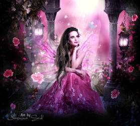 Dream Of A Butterfly Fairy by JassysART