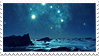 Night Sky Stamp 002 by JassysART