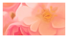 Pink Flowers Stamp 002 by JassysART