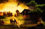 Horses by JassysART