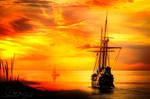Calm Sea by JassysART