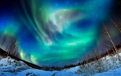 Polar Lights by JassysART