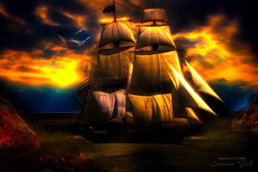 The Ship by JassysART
