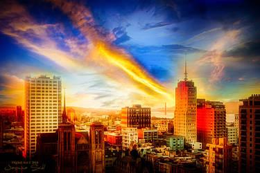 City Lights - Wallpaper by JassysART
