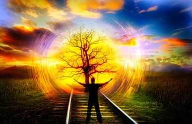 Railroad by JassysART