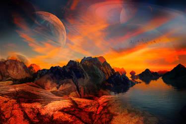 Planetary Glow - Wallpaper by JassysART