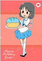 Nichijou Birthday by Popo-Licious