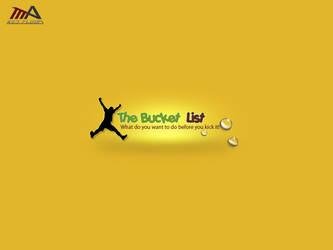 The Bucket List logo by REDFLOOD