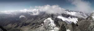 Schwarzenstein Peak, 3368mt by rembrandt83