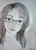 Day 1: Self-portrait by D0mari