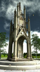 The Monument by MerlinsArtwork