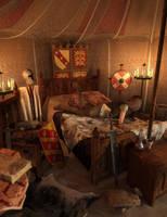 The Knights Pavilion by MerlinsArtwork