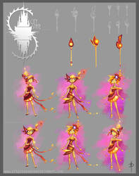 Firelight - concepts + wands by CityState