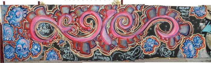 10 year celebration graff by ogle12
