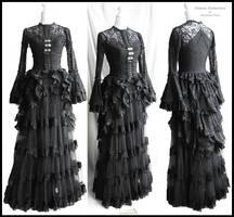 Blouse, bustle, skirt, somnia romantica by M Turin by SomniaRomantica