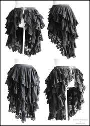 bustle skirt Somnia Romantica by Marjolein Turin by SomniaRomantica