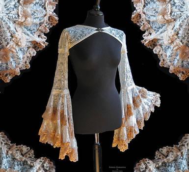 Bolero flared sleeves, Somnia Romantica by M Turin by SomniaRomantica