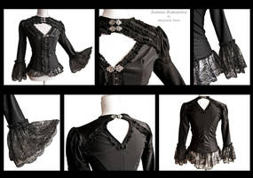 Blouse Andalusia details, by Somnia Romantica by SomniaRomantica