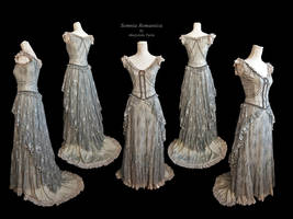 Dress-mariposa-silver by SomniaRomantica