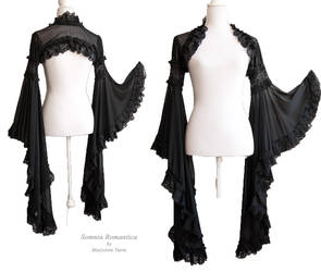 Angelic black shrug, Somnia Romantica by M. Turin by SomniaRomantica