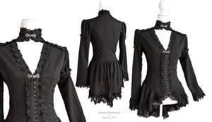 Blouse high collar, Somnia Romantica by M. Turin by SomniaRomantica