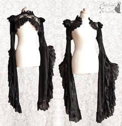 romantic lace shrug by somnia romantica by SomniaRomantica