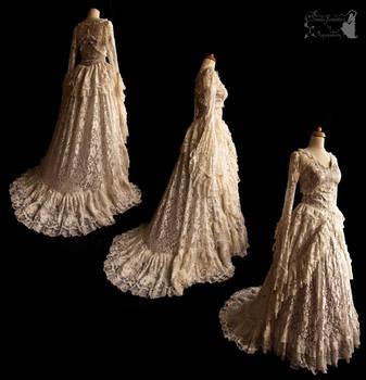Wedding gown lace, Somnia Romantica by M. Turin by SomniaRomantica